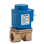 Danfoss EV220B (6-22 Series) Solenoid Valves Servo-Operated - Inc. Coil