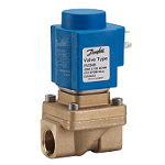 Danfoss EV250B Assisted Lift Operated 2-2 Way Solenoid Valves - Inc. Coil