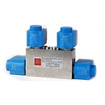 Solenoid Valves 4/3 for Special Purpose and CETOP