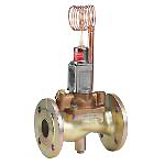 Danfoss WVTS, Thermostatic valves with temperature sensitive sensor