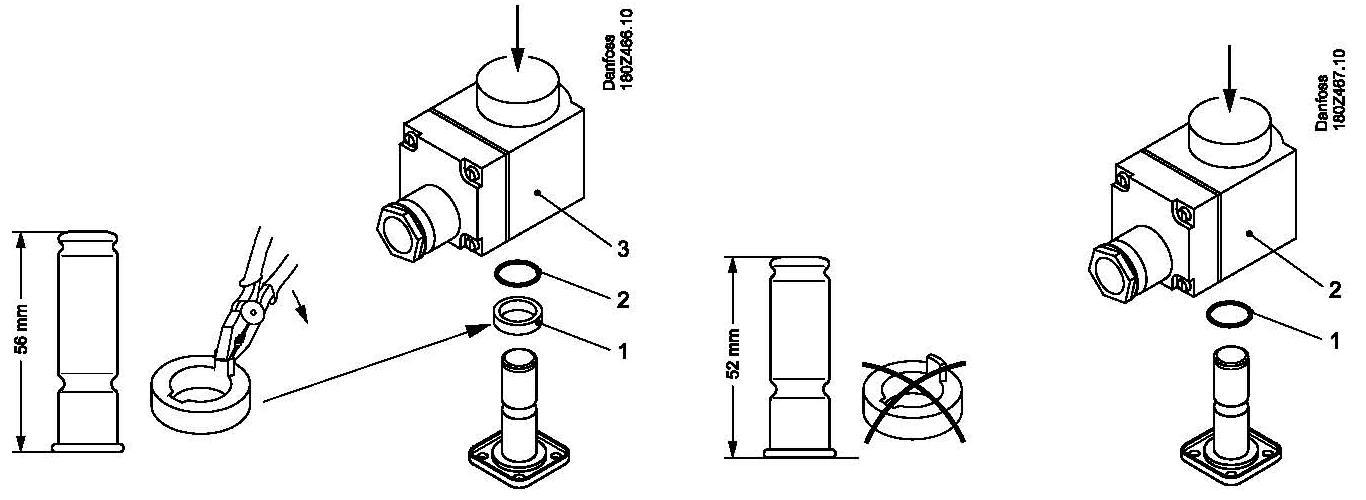 Danfoss Nessie coil assy
